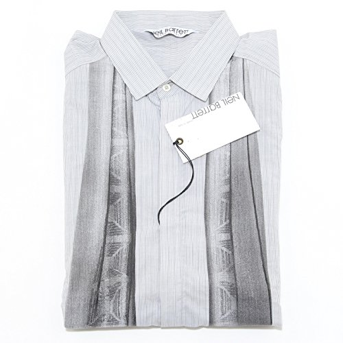 23385 camicia NEIL BARRETT camicie uomo shirt men [L]