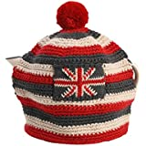 T&G Woodware 240 x 180 mm Acrylic Wool Street Party Knitted Stripe Tea COSY