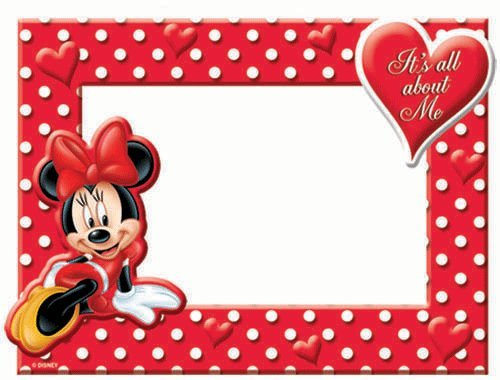 Disney Minnie Mouse All About Me Picture Frame (Minnie Mouse Pictures compare prices)