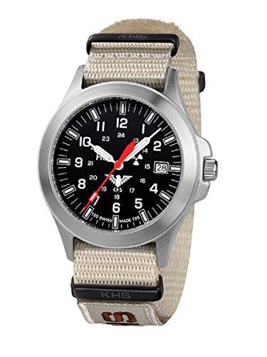 KHS Tactical relojes hombre KHS.P.NXTLT5 XTAC colour correa de acero inoxidable