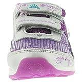 Stride Rite Disney WL Anna and Elsa Handl Athletic Shoe (Infant/Toddler/Little Kid),Magenta/Silver,9 M US Toddler