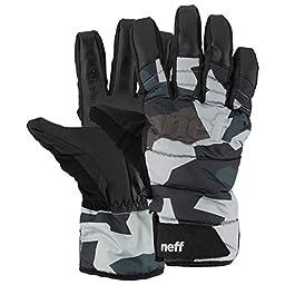 neff Men\'s Digger Glove, Camo, Medium