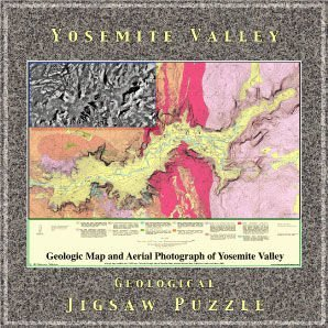 Yosemite Valley Geological Jigsaw Puzzle - 1