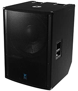 Yorkville LS2100P Powered Subwoofer 21 Inch Woofer Integrated 2400 Watt Amplifier Elite Series
