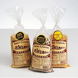 Amish Country Popcorn, Set of 3 1lb. bags