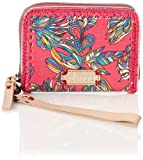 Sakroots Artist Circle Zip Phone Wallet Laptop Computer Bag,Hot Pink Treehouse,One Size