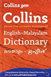 Collins Gem English-Malayalam/Malayalam-English Dictionary (Collins Gem)