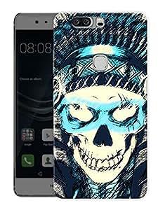 "Pirate SkullPrinted Designer Mobile Back Cover For ""Huawei Honor V8"" (3D, Matte, Premium Quality Snap On Case)"