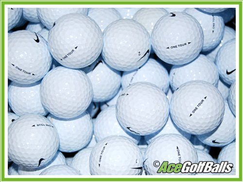 100 Nike ONE Tour D Golf Balls - Grade A - from Ace Golf Balls