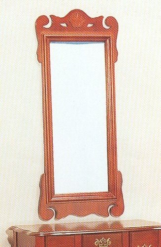 Black friday beautiful cherry finish wood wall mirror sale for Cheap mirrors for sale