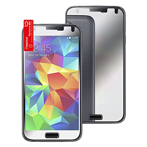Insten® Samsung Galaxy S5 Lcd Cover - Mirror Screen Protector For Samsung© Galaxy S5/ Sv
