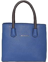Lino Perros Women's Handbag (Blue) - B01IVGJFNW