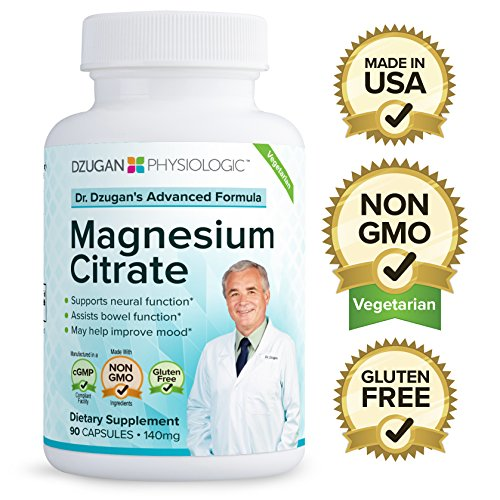 Dr-Dzugans-ADVANCED-Magnesium-Citrate-Formula-Non-GMO-Gluten-Free-GMP-Certified-140mg-90-Caps-Neural-Function-Bowel-Function-Mood