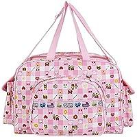 Littly Designer Multipurpose Diaper Bag/Mother Bag (Large) , Pink