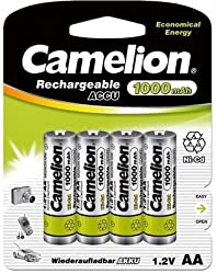 Camelion NC-AA1000BP4 Rechargeable Battery