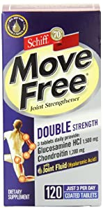 Schiff Move Free Advanced Double Joint双倍维骨力120粒ss折后$23.39