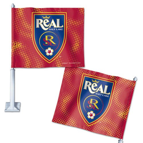 Real Salt Lake Car Flag