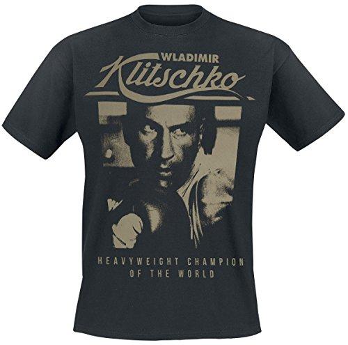 Klitschko Wladimir Photo T-Shirt nero S