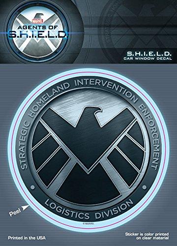 Marvel ST MMAOS SHLDLOGO Car Window Decal (Agents of Shield Agents of Shield Logo 6