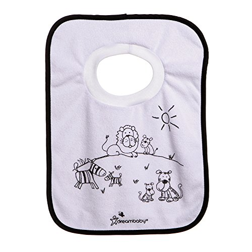 Dreambaby Pullover Bibs, 4 Count - 1