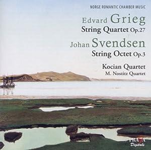 Norwegian Romantic Chamber Music - Grieg String Quartet Op.27, Svendsen String Octet Op.3 by Praga Digitals