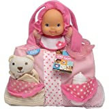 Babys First Tiny Totes Doll (Colors/Styles Vary)
