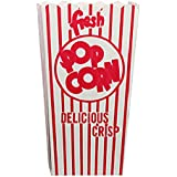 Great Northern Popcorn 50 Movie Theater Popcorn Boxes .79 Ounce Open Top