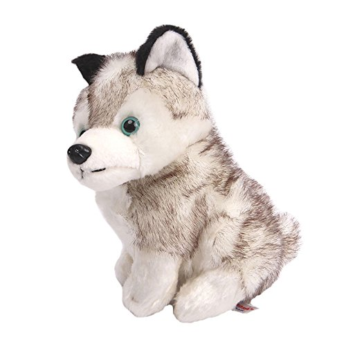 Stuffed Husky Dog - Plush Animal That's Suitable For Babies and Children - Perfect Birthday Gifts - Toy Doll for Baby, Kids and Toddlers (Jelly At Lamb compare prices)