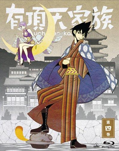 有頂天家族 (The Eccentric Family) 第四巻 (vol.4) [Blu-ray]