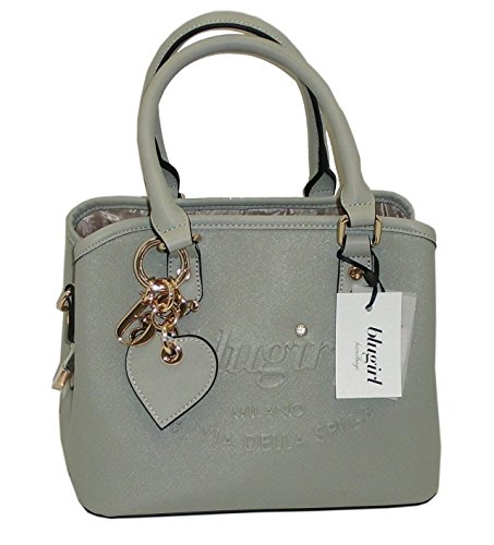 Borsa BAULETTO due manici BLUGIRL by blumarine BG 829006 women bag GRIGIO