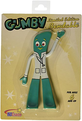 NJ Croce Dr. Gumby Bendable Figure - 1