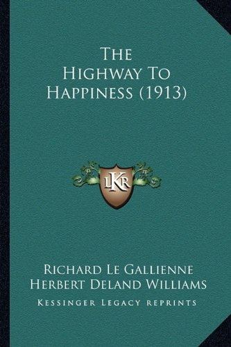 The Highway to Happiness (1913)