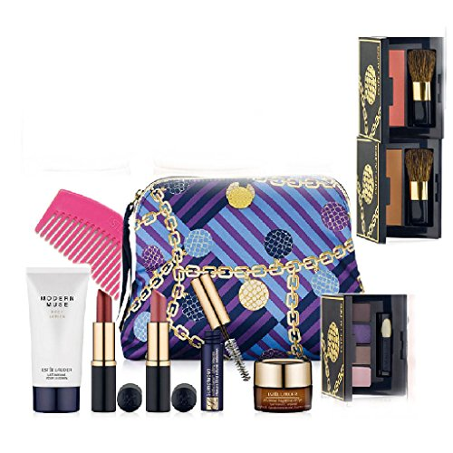Get Estee Lauder Macyu0026#39;s 7 Pcs Skin Care Makeup Gift Set Advanced Night Repair Mascara Lipstick ...