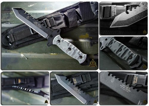 Tops Surv-Tac 5 Survival Combat Knife By Joseph Teti Stac-5