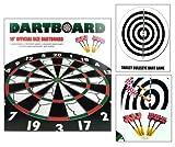 (Dartboard) 18 Official Size Dartboard
