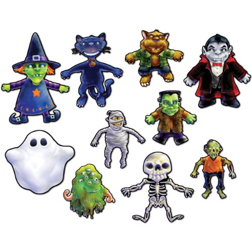 Beistle 01630 Halloween Cutouts - Case of 12 - 1