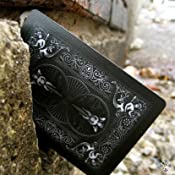 Amazon.com: Bicycle Shadow Masters BLACK Deck of Playing Cards by Ellusionist: Sports & Outdoors
