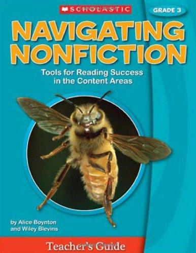 Navigating Nonfiction Grade 3 Teacher's Guide