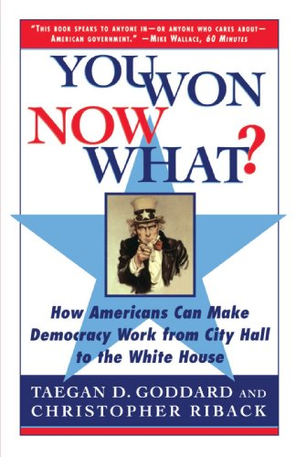 You Won--Now What?: How Americans Can Make Democracy Work from City Hall to the White House