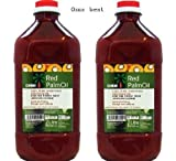 Omni Unrefined Red Palm Oil (100% Pure) 2 Bottles (67.63 Oz Ea.)