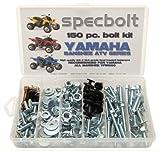 150pc Specbolt Yamaha Banshee Bolt Kit for Maintenance & Restoration OEM Spec Fasteners ATV Quad by Specbolt