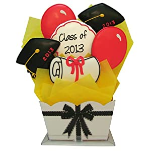 The Gift Basket Gallery Graduation Cookie Bouquet