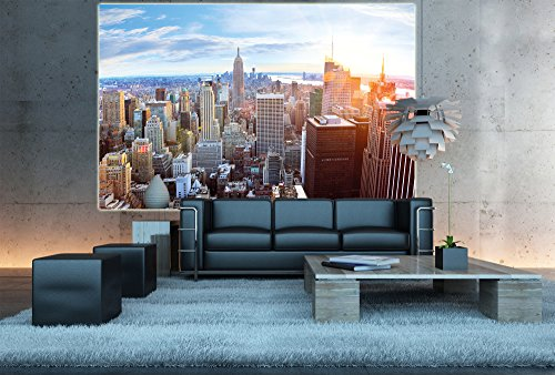 galleon new york penthouse skyline photo wallpaper. Black Bedroom Furniture Sets. Home Design Ideas