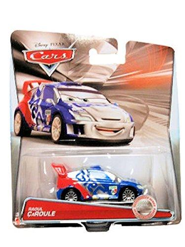 Disney Pixar Cars - 1:55 Scale Diecast Silver Racer Series - Raoul Caroule