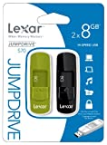 Lexar 8GB JumpDrive S70 USB Flash Drive (Pack of 2)