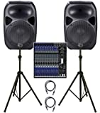 Wharfedale Titan Vocal / Band PA System - 600W 12 Channel Active