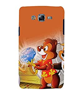 printtech Chip And Dale Cartoon Back Case Cover for Samsung Galaxy J5 / Samsung Galaxy J5 J500F