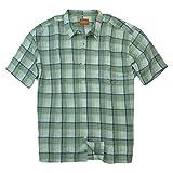 Tommy Bahama Mens Plaid City Limits Linen Camp Shirt