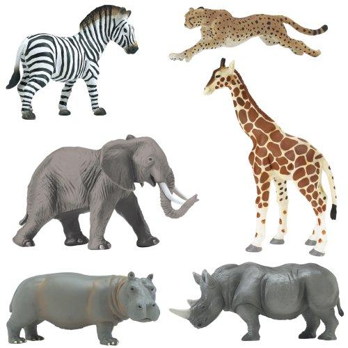 Buy Low Price Safari Wild Safari African Savanna Set Figure (B000U0JQLY)