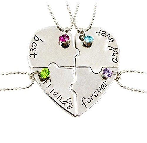 fengteng-best-friends-forever-and-ever-friendship-love-necklace-diamond-stitching-splice-broken-hear